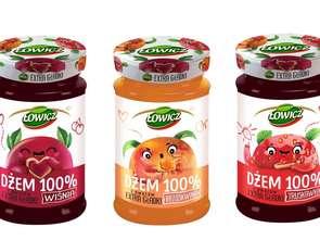 Grupa Maspex. Dżemy Łowicz 100% z owoców Extra Gładkie