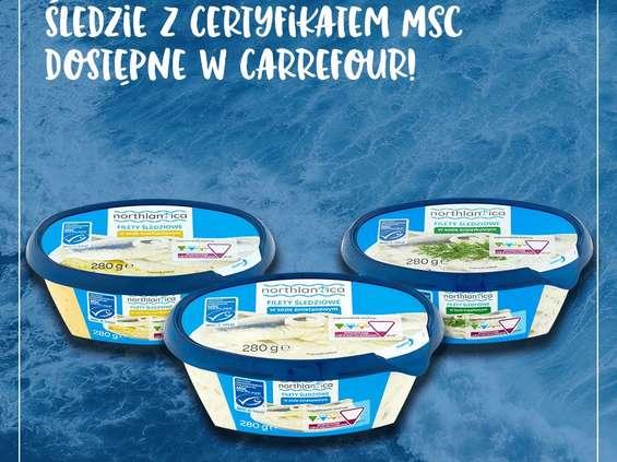 W Carrefourze ryby z certyfikatem MSC