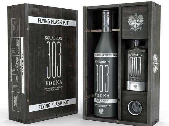 Wódka Squadron 303 w nowej butelce