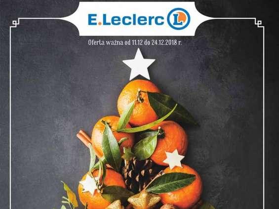 E.Leclerc poleca się na święta