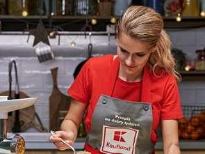 Beata Śniechowska gotuje w Kauflandzie