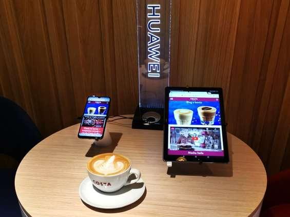 Huawei i Costa Coffee ogłaszają współpracę