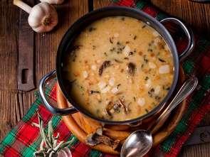 Bezglutenowa zupa grzybowa