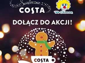 Costa Coffee ze świąteczną akcję