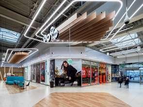 Centrum handlowe w Żorach z nowymi wnętrzami