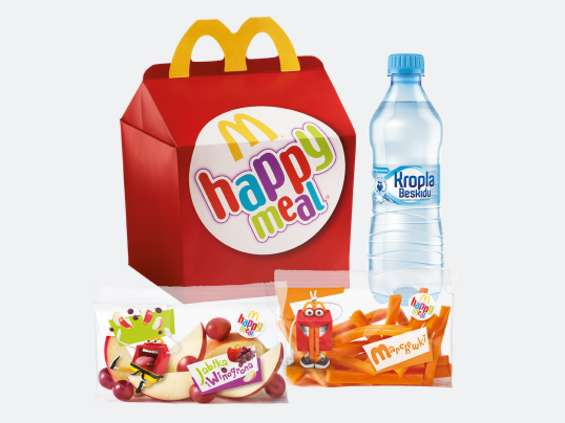McDonald's odchudza Happy Meal