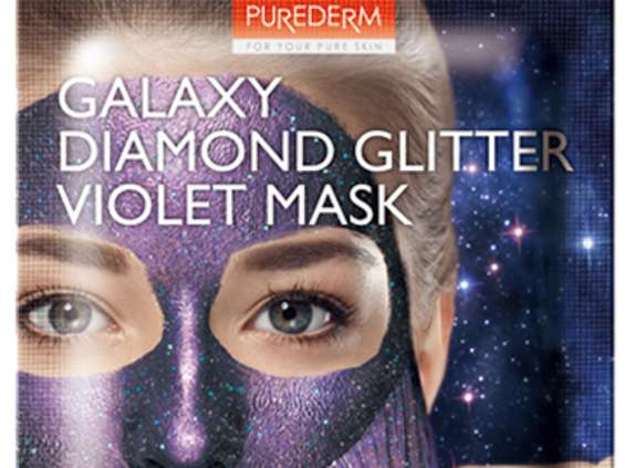 Blue Dot. Maski Glitter Galaxy Peel-off od Purederm