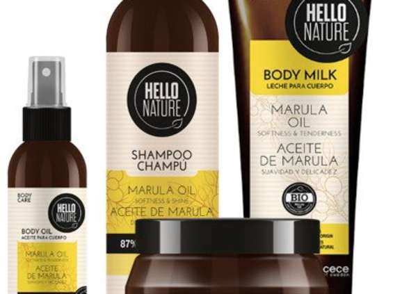 Beliso. Hello Nature Marula Oil
