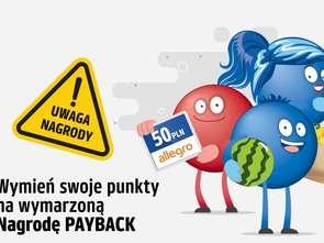 Payback zachęca do wykorzystania punktów