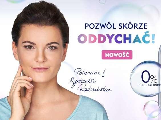 Agnieszka Radwańska w kampanii Nivei