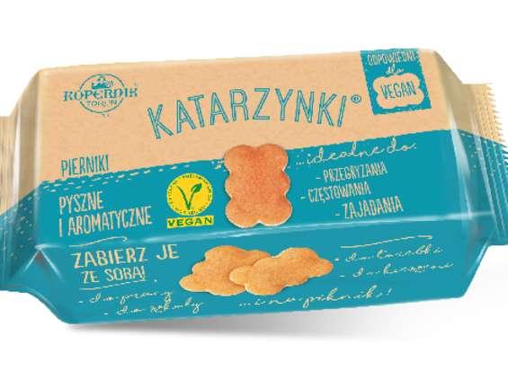 Słodycze FC Kopernik ze znakiem V-Label
