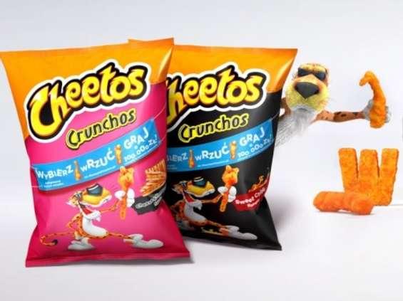 A Ty, co widzisz w Cheetos?
