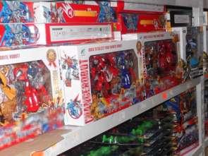 Podrabiane zabawki w Wólce Kosowskiej