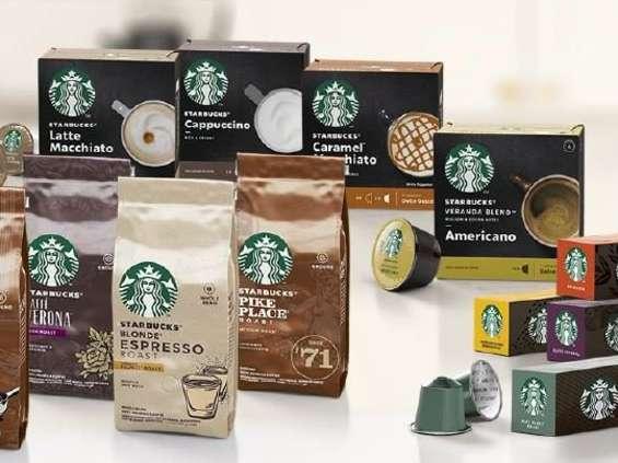 Nestlé wprowadza nową gamę kaw Starbucks