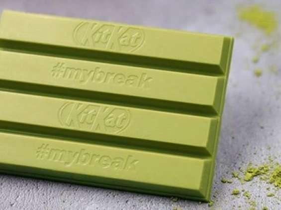 KitKat znów zmienia kolor, tym razem na zielony
