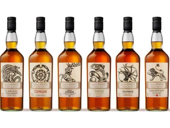 Limitowana kolekcja whisky single malt Gra o Tron