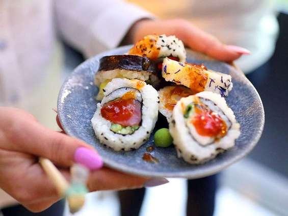 Trzy tygodnie darmowego sushi