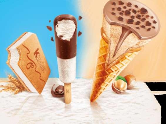 Ferrero wprowadza lody Kinder