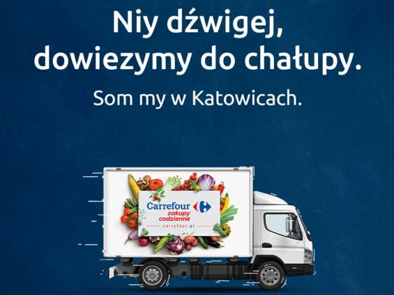 Carrefour uruchamia e-sklep. Tym razem w Katowicach