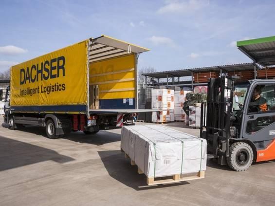 Dachser zanotował wzrost eksportu do sieci DIY