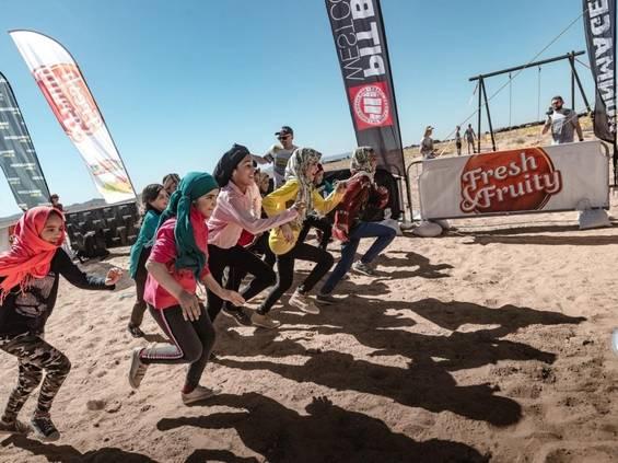 Runmageddon Kids na Saharze ze słodyczami Wawelu