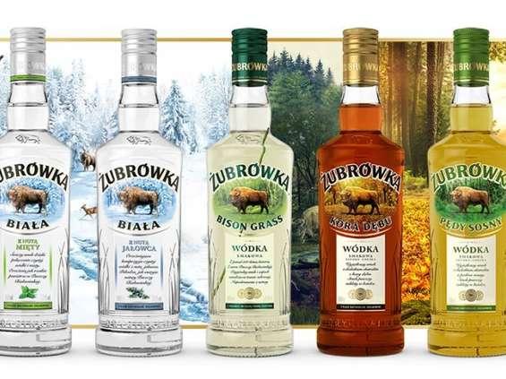 Żubrówka trzecią marką wódki na świecie