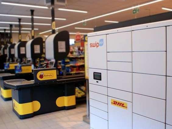 Przesyłki DHL Express w Biedronce i Carrefourze