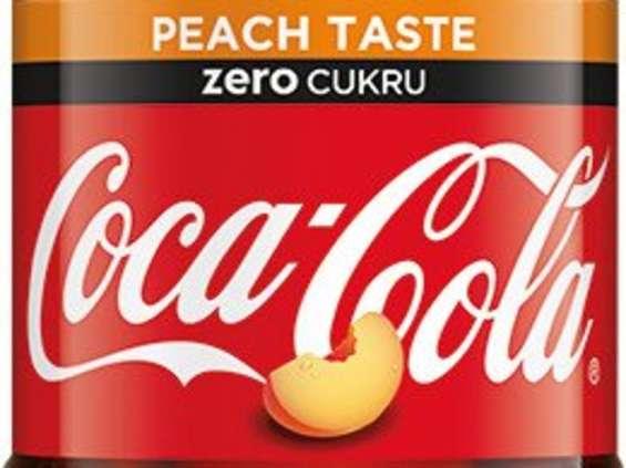 Coca-Cola. Coca-Cola o smaku brzoskwiniowym