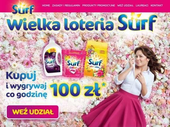 Wielka loteria Surf