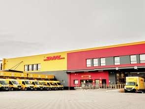 DHL Express z terminalem w Szczecinie
