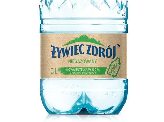 Żywiec Zdrój wprowadza butelkę w 100% z recyclingu