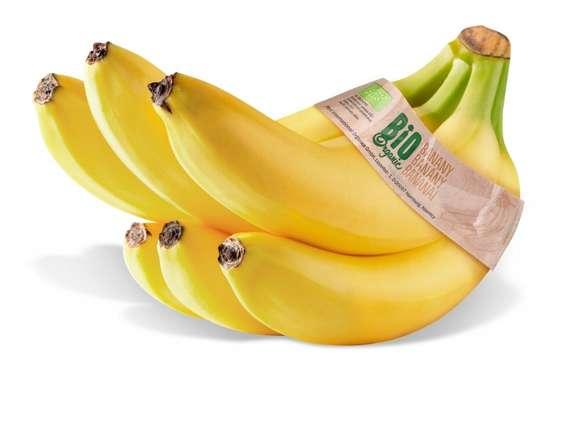 BIO banany Fairtrade na stałe w Lidlu