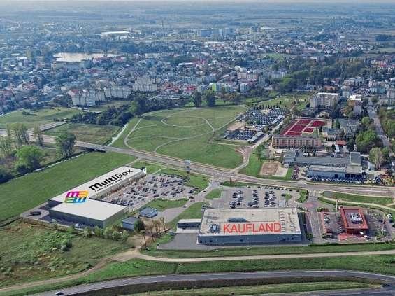 Neonet w Parku Handlowym Multibox w Płońsku