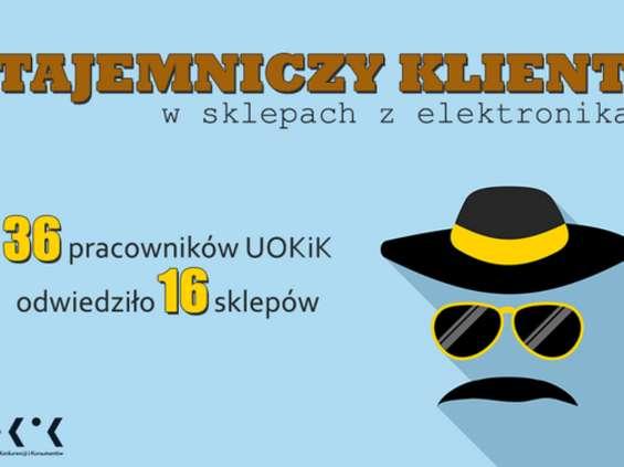 Tajemniczy klient - UOKiK w sklepach z elektroniką