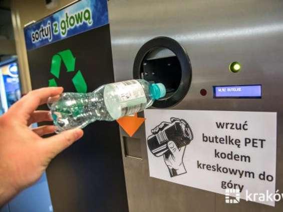 W Krakowie skupują puste butelki