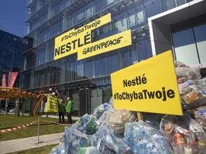 Nestlé pod ostrzałem aktywistów z Greenpeace