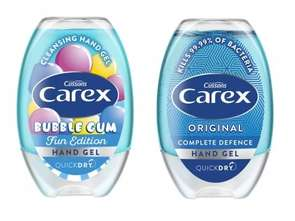 Grupa PZ Cussons. Żele do rąk Carex