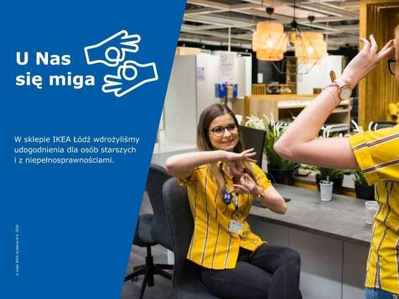 Łódzka IKEA otwiera się na niepełnosprawnych klientów