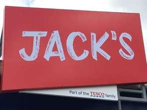 Tesco sprzedaje produkty pod marką Jack's