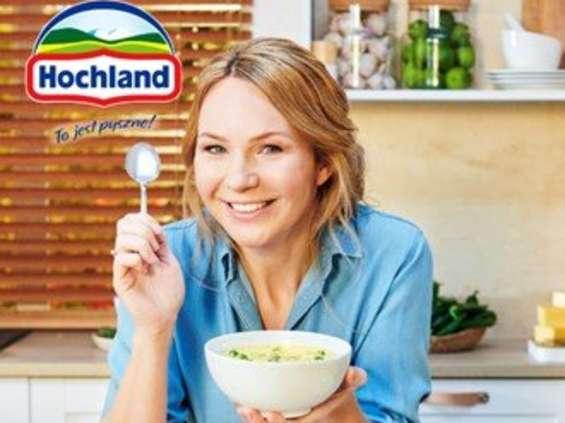 Sery kremowe Hochland w kampanii