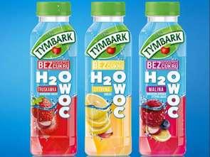 H2Owoc w nowej kampanii Tymbarku