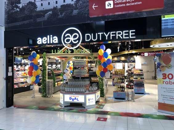 Nowy sklep Aelia Duty Free na lotnisku Lublin-Świdnik