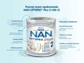 Nestlé Polska. Mleka modyfikowane NAN 2