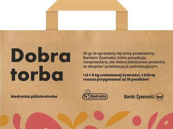 Biedronka wprowadza papierowe torby