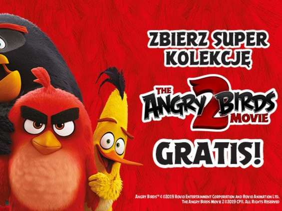 Angry Birds na stacjach Circle K