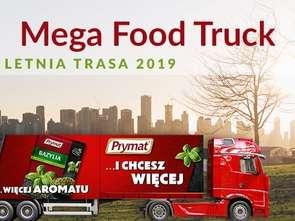 Mega Food Truck Prymatu już w trasie