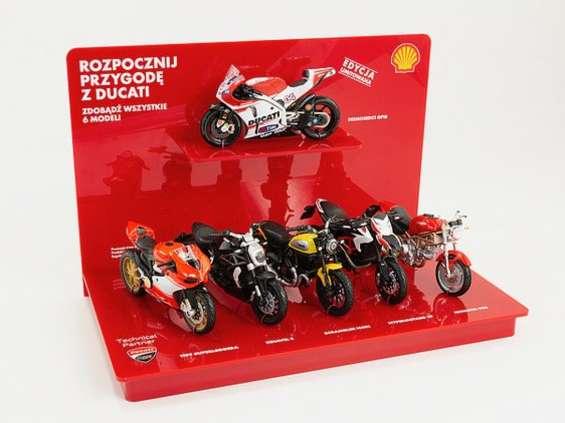 Na Shell po Ducati