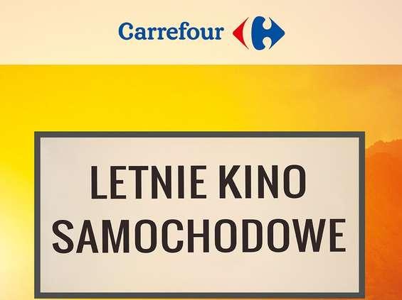 Kino letnie w centrach handlowych Carrefoura