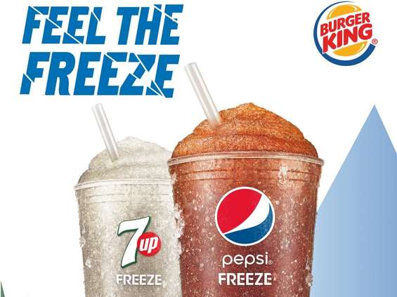 PepsiCo. Pepsi Freeze i 7UP Freeze