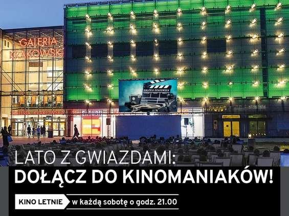 Rusza letnie kino przed Galerią Krakowską